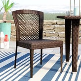Beachcrest Home Caraquet Stacking Patio Dining Chair