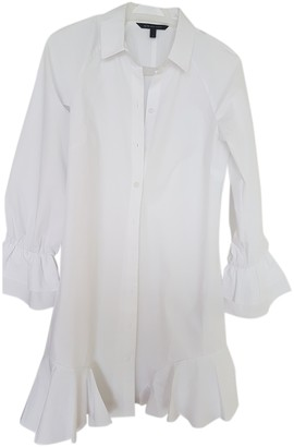 Armani Exchange White Cotton Dress for Women