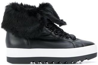 Högl Contrast Platform Sneakers