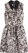 McQ Party Dress with Contrast Collar