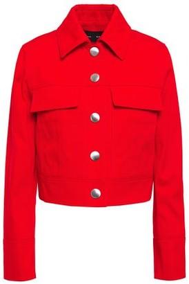 Proenza Schouler Cropped Cotton-gabardine Jacket