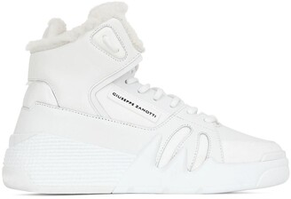 Giuseppe Zanotti Lace-Up Hi-Top Sneakers