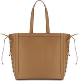 Max Mara Laced Leather Shopper