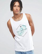 Billabong Obstacle Vest In White
