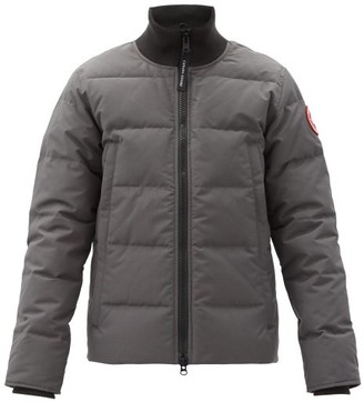 Canada Goose Woolford Quilted Down Bomber Jacket - Grey