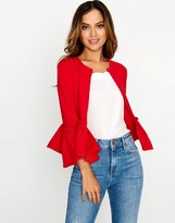 Girls On Film Frill Hem Jacket