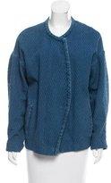 Etoile Isabel Marant Quilted Denim Jacket