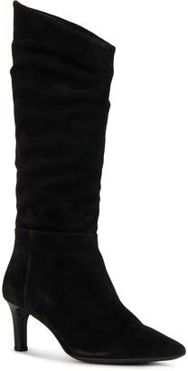 Geox Bibbiana 32 Sloughy Stiletto-Heel Boots