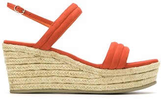 Sarah Chofakian Leather Platform Sandals