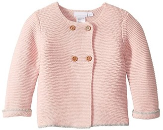 Elegant Baby Sofia and Finn Cardigan (Infant) (Pink) Girl's Sweater