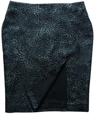 Les Hommes Multicolour Silk Skirt for Women