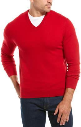 Qi V-Neck Cashmere Sweater