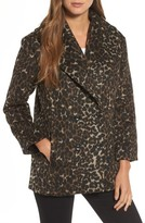 Hinge Women's Animal Print Coat