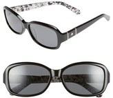 Kate Spade 55mm Polarized Sunglasses