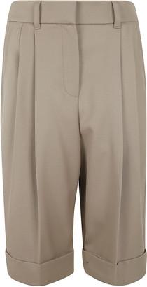 Brunello Cucinelli Folded Cuff Shorts
