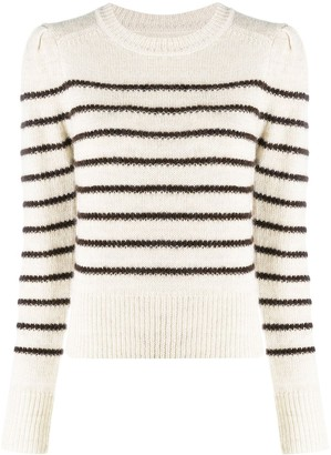 Etoile Isabel Marant Striped Crew Neck Jumper