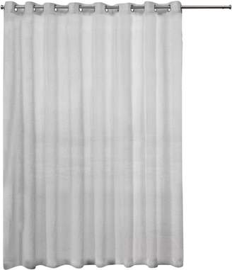 Home Outfitters Belgian Patio Sheer Grommet Top Curtain Panel