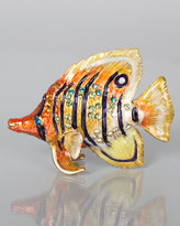 Jay Strongwater Melvin Butterfly Fish Mini Figurine