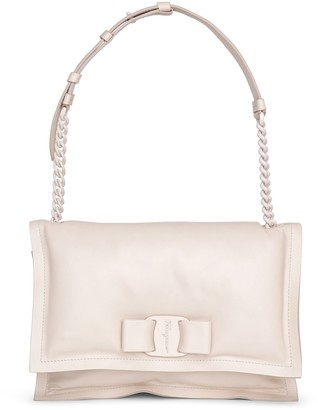Salvatore Ferragamo Viva bow bag bone
