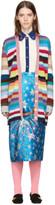 Gucci Multicolor Rainbow Cardigan