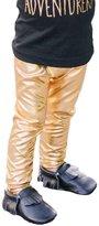 FTXJ Baby Girl Fashion Cool Leggings Faux Leather Tights Skinny Pants (12M, )