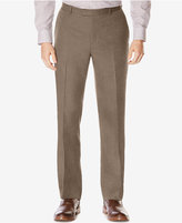 Perry Ellis Men's Men's Classic-Fit Wrinkle-Resistant Plaid Pants
