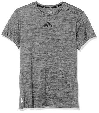 Melange Home ONLY First Men's Frsfrankie Training Ss Tee - Unit T-Shirt, Medium Grey