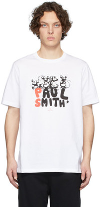 Paul Smith White CNY Rats T-Shirt