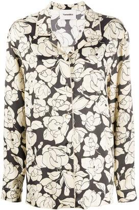 Nanushka Oona floral-print shirt