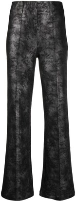 Han Kjobenhavn Faux-Leather Flared Trousers