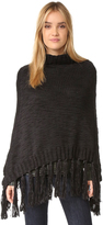 Hat Attack Knit Poncho