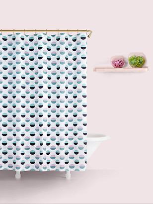 Kate Spade Half Dot Shower Curtain