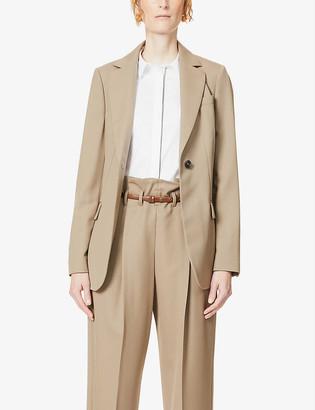 Brunello Cucinelli Notch-lapel wool blazer
