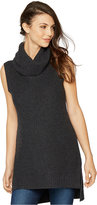 A Pea in the Pod Maternity Sleeveless Turtleneck Sweater