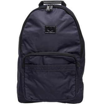 Fred Perry Mens Sports Nylon Backpack Navy