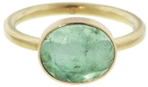 Jamie Joseph Small Table Cut Emerald Ring