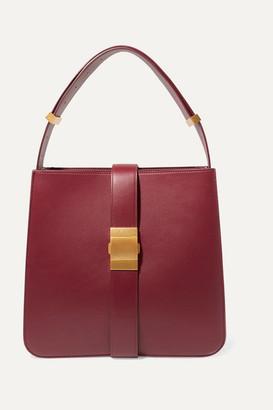 Bottega Veneta Marie Medium Leather Shoulder Bag - Burgundy