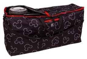 J L Childress Disney Baby Single Double Stroller Travel Bag, Mickey