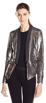 Greylin Women's Kanal Sequin Blazer Jacket