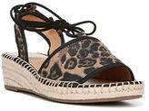 Franco Sarto Liona Leopard-Print Wedge Sandals