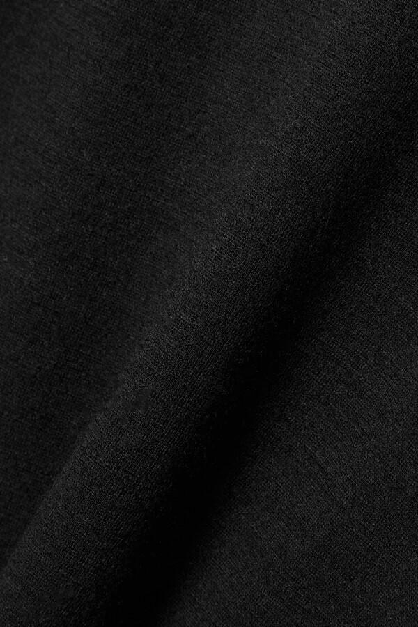 Thumbnail for your product : FRANCES DE LOURDES Aurelia Stretch-knit Top - Black