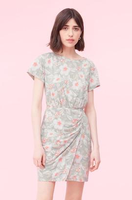 Rebecca Taylor Kamea Fleur Jersey Dress
