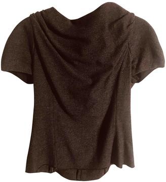 Etoile Isabel Marant Grey Tweed Top for Women