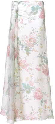 Ralph Lauren Floral Flared Skirt
