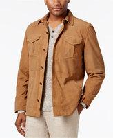 Tasso Elba Men's Suede Jacket, Only at Macy's