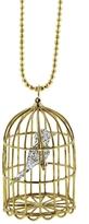 Sydney Evan Caged Albert Pendant Necklace - Yellow Gold