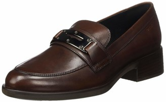 Geox Women's D Resia K Loafer Size: 5.5 UK Brown