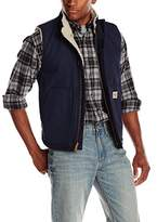 Carhartt Men's Big & Tall Flame Resistant Mock Neck Sherpa Lined Vest