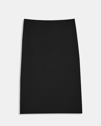 Theory Pencil Skirt in Good Wool