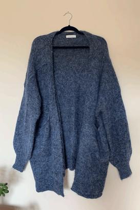 Belle Modelle Belle-Modelle - Luxe Blue Longline Cardigan With Pockets